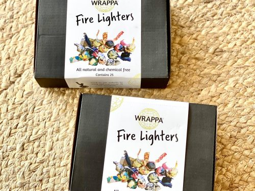 Natural Firelighters in boxes