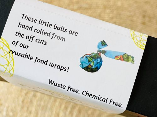 Natural firelighters label