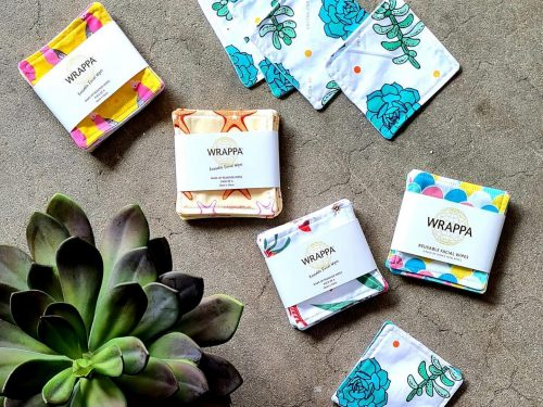 Wrappa Reusable Face Wipes