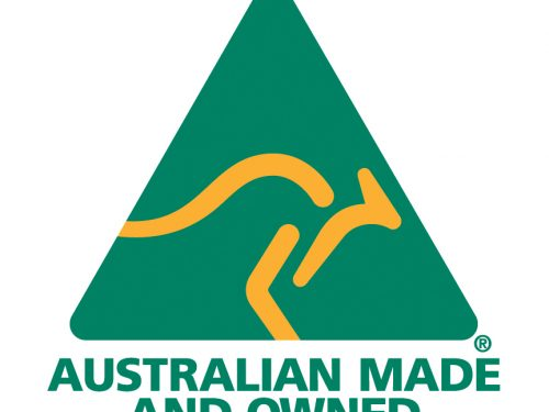 Australian Made and Owned Logo